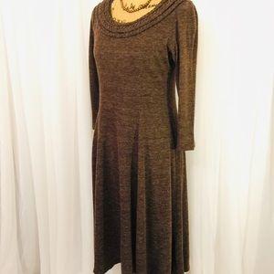 Chadwick's sweater knit dress